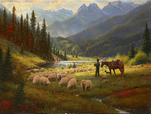 Mark Keathley's He Leadeth Me