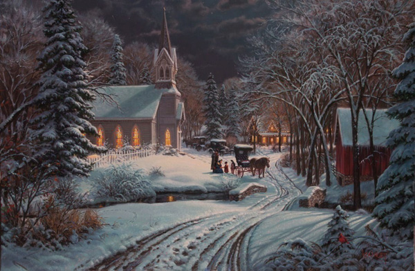 Heavenly Light by Mark Keathley