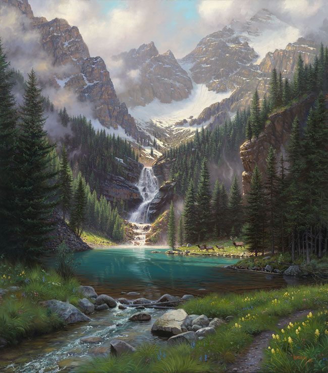 Lake Solitude by Mark Keathley