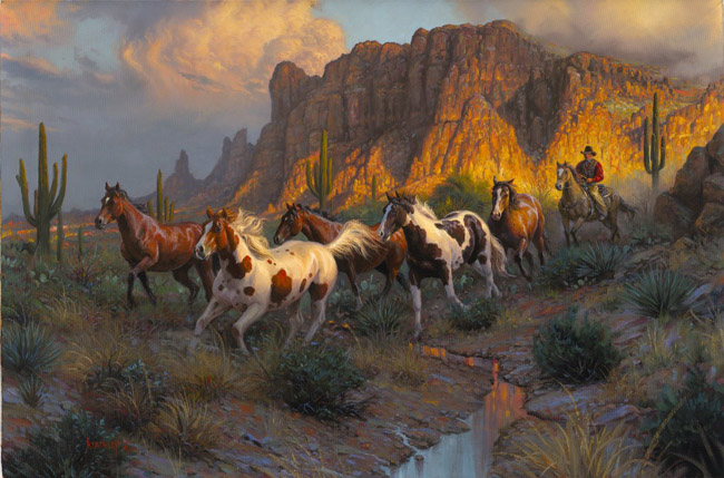 Legends of the West by Mark Keathley