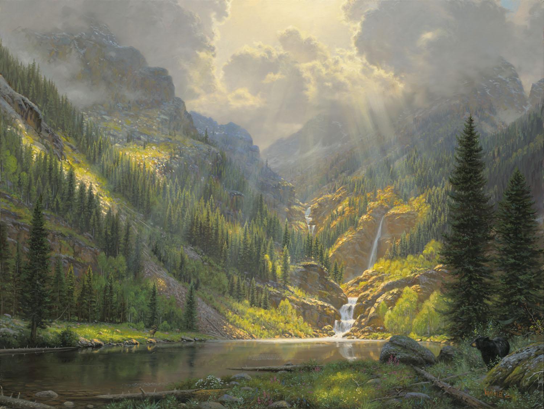 Wonderful Mountain Majesty #5: Infinity Fine Art