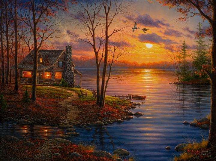 Abraham Hunter Sunset Cover