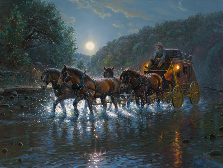 Texas Highway by Mark Keathley
