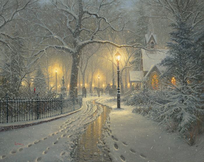 SWinter Chapel by Mark Keathley